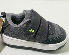 Gray Wool Boy's Athletic Shoe 1st Walker Surprize by Stride rite Toddler Size 3