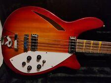 Custom Semi Hollow 4 String Bass Guitar