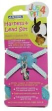 Ancol Just 4 Pets Small Animal Harness & Lead Set Blue Polka