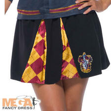 Gryffindor Pleated Skirt Ladies Fancy Dress Harry Potter Adults Book Day Costume
