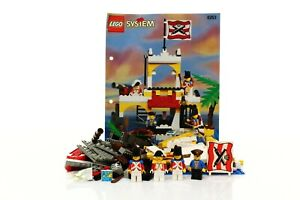Lego Pirates I Set 6263 Imperial Outpost 100% complete + instructions 1995