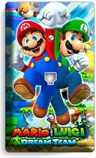 SUPER MARIO AND LUIGI BROS PHONE TELEPHONE WALL PLATE COVER GAME ROOM HOME DECOR