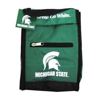 NCAA Michigan State Spartans Insulated Lunch Box / Sack Cooler w Carry Handle