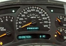 03-04 Chevrolet Tahoe GMC Yukon Instrument Panel Cluster NO CORE REQUIRED 0 MI