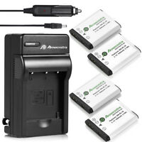 EN-EL19 Battery & Charger for Nikon Coolpix S3100 S3300 S4100 S6500 S4300 S5200