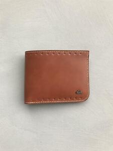 Quiksilver GENUINE WALLET RFID LEATHER WALLET Mens Wallet New - EQYAA03528 Tan