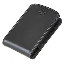 BLACKBERRY TORCH 9800 9810 OEM BLACK LEATHER SLIM POCKET POUCH CASE COVER SLEEVE
