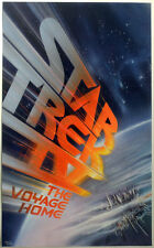 STAR TREK REPRO 1986 THE VOYAGE HOME US MOVIE FILM POSTER . NOT DVD