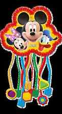 Disney Mickey Mouse Clubhouse Plates Cups Napkins Table cover Loot Bags Pinata