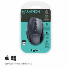 Logitech - Marathon Mouse M705 - souris sans fil USB - laser - Unifiying argent