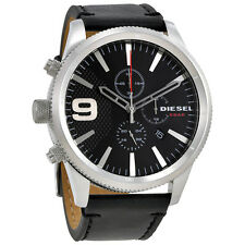 Diesel Rasp Black Dial Mens Chronograph Watch DZ4444