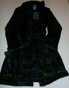 ~NWT Boys SAINTEVE Plaid Robe! Size M 8 Nice:)!