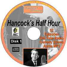 Hancock's Half Hour 52 Old Time Radio Episodes Audio MP3 CD OTR disk 1