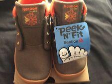 Kids Reebok Boys Ventureflex Chukka Text Low Top, Green,  Size Toddler 9.5 New