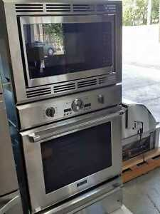 "Thermador PODMW301J 30"" Stainless Triple Combination Wall Oven NOB #46469 HRT"
