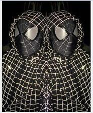 Newest Stunning Amazing Spider-Man 2 Mask 3D Digital Printing Black&White Hood