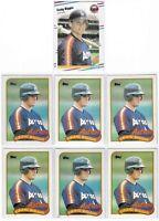 1988 1989 Craig Biggio Rookie Lot Of 18 Fleer Update Topps Upper Deck Donruss