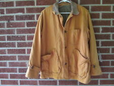 Vintage Dual Control Barn Coat Jacket 90s Small Brown 1993 Removable Lining