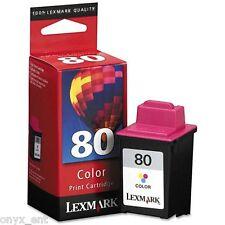 Lexmark 12A1980 Lexmark 80 Cartuchos de tinta de color