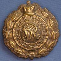 Victoria Crown Engineer Volunteers cap badge *[16512]