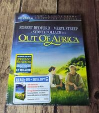 Out Of Africa 100th Anniversary Collector's Edition Blu-Ray DVD Digibook Set New