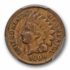1909 S 1C Indian Head Cent PCGS VG 8 Very Good Key Date Looks Better Wood Gra...
