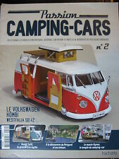 FASCICULE  2 PASSION CAMPING CARS VOLKSWAGEN KOMBI WESTFALIA SO 42