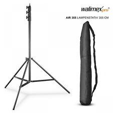 Walimex Pro Lampenstativ AIR 355cm mit Luftdämpfung
