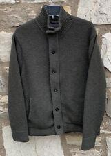 Relwen Full Zip Sweater Jacket Men's L Olive Green
