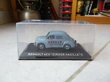Renault 4CV Polish Bee 800amp Leather Uni School Ixo 1/43 Miniature