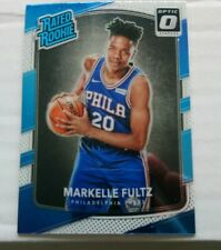 Markelle Fultz 2017-18 Donruss Optic Rated Rookie Card