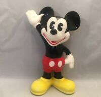 Rare Walt Disney Productions Japan Mickey Mouse Ornament Figurine Vintage