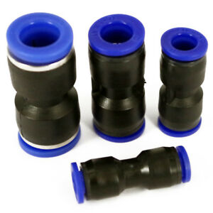 Nylon Pneumatic Push Fit Connector Speed Fit Air Water Lines Hose 6,8,10,12mm