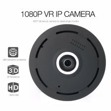 HD 1080P Mini 360° Fisheye Panoramic Wireless IP Camera IR Night Vision Cam