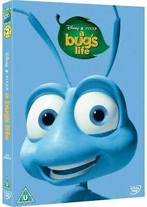 A BUG'S LIFE - DVD + SLIP CASE (BRAND NEW & SEALED) Disney Pixar