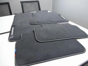 BMW G30/31 F90 M5 5 SERIES M PERFORMANCE SET OF 4 CARPET FLOOR MATS 51472467896