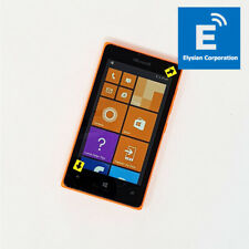 "Nokia Lumia 435 (RM-1071) 4"" 3G - Orange Smartphone - Unlocked - Cosmetic #0811"