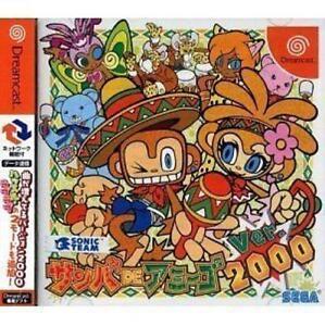 USED Dreamcast Samba de Amigo Ver. 2000 Japan Import