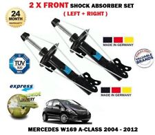 FOR MERCEDES A CLASS ALL W169 2004-2012 2X FRONT LEFT + RIGHT SHOCK ABSORBER SET
