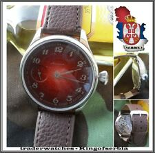 MOLNIA 3602 Pocket Watch Converted In Gents Wristwatch !!!