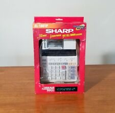 Sharp Electronic Calculator EL-1801P *EXCELLENT* 12 Digit and 2 Color Printer