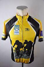 Scody 2012 full ZIP bike Cycling Jersey maillot rueda camiseta talla L 52cm i-08