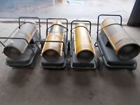 garage/workshop master space heater heating oil parafin diesel