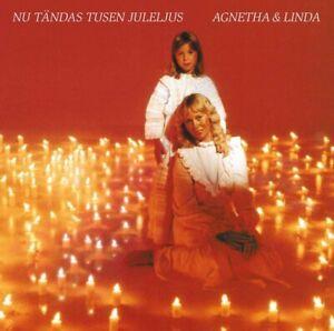 AGNETHA FALTSKOG & LINDA ULVAEUS Nu Tandas Tusen Juleljus  ABBA CD *New* 7