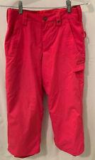 BURTON Sweetart Sugar and Spice Hot Pink Girls L 10 12 Ski Snowboard Pants $96