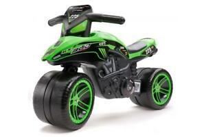 Falk Kawasaki Bud Racing Team Motor - Grün - Jungen - Laufrad