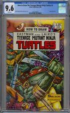 How to Draw Teenage Mutant Ninja Turtles #1 CGC 9.6 NM+ Wp Solson Comics 1986
