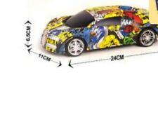 LATEST GRAFFITI CAR RADIO REMOTE CONTROL SKULL RC CAR 1:16 AMAZING XMAS TOY GIFT