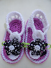 Sandalen für Babys aus 100% Baumwolle