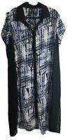 TS Taking Shape NWOT Women's Plus Size 18 Dress Multi Pattern Dress
